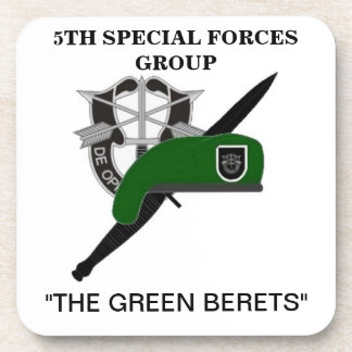 5TH SPECIAL FORCES GROUP DRINK COASTERS