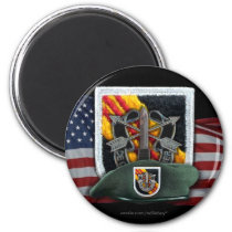 5th special forces group flash vietnam magnet vets
