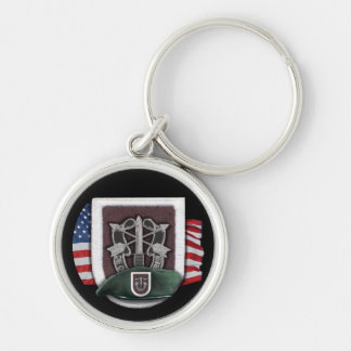 5th Special Forces group Green Berets Keychain