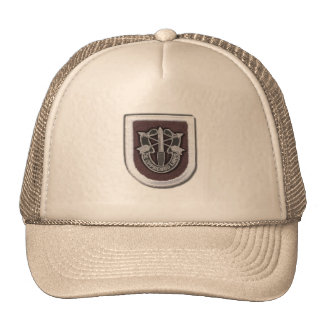 5th special forces group iraq fort campbell vetera trucker hat
