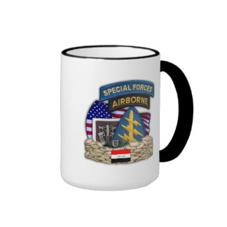 5th Special forces group iraq vets veterans Mug