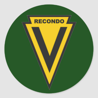 5th Special Forces Group school - Nha Trang patch Classic Round Sticker