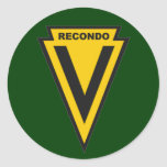 5th Special Forces Group school - Nha Trang patch Round Sticker