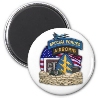 5th special forces group veterans vets iraq magnet