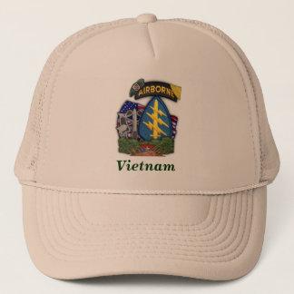 5th special forces group vietnam veterans vets trucker hat