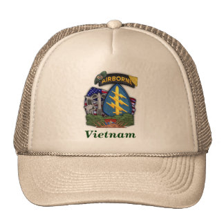 5th special forces group vietnam veterans vets trucker hat