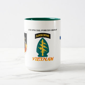 5TH SPECIAL FORCES GRP VIETNAM COMBAT INFANTRY MUG