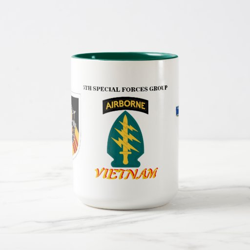 Zazzle 5TH SPECIAL FORCES GRP VIETNAM COMBAT INFANTRY MUG