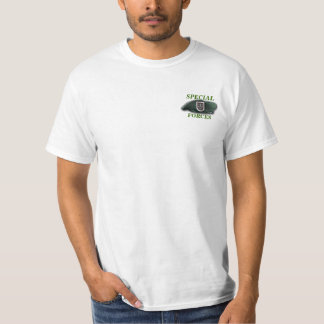 5th special forces sf sfg sof green berets vets T-Shirt