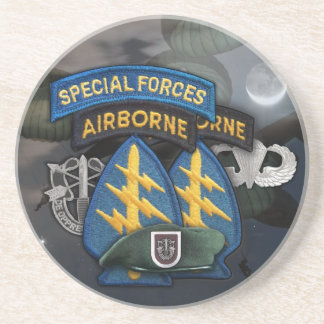 5th special forces veterans iraq drink Coaster