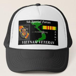 5th Special Forces Vietnam Veteran Ball Caps