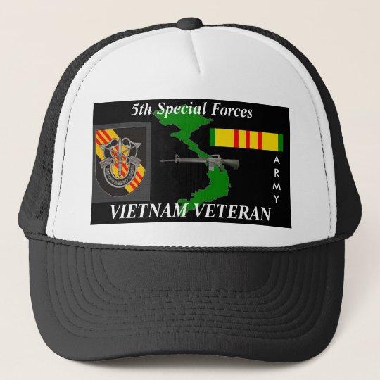 7c8678186 5th Special Forces Vietnam Veteran Ball Caps