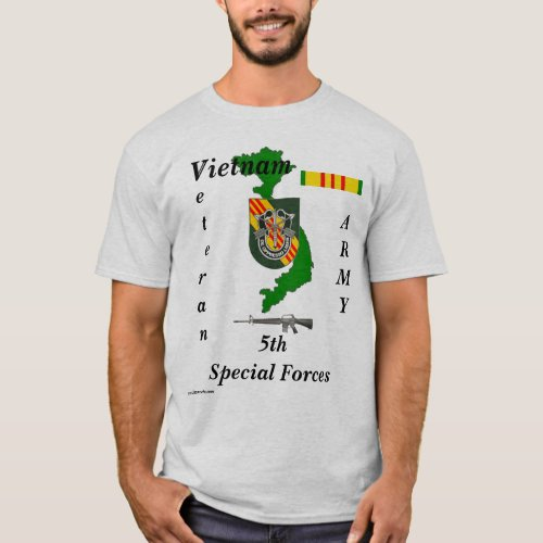 5th Special Forces_W T_Shirt