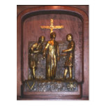 5th Station of the Cross Postcard