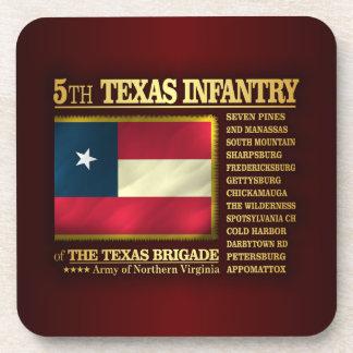 5th Texas Infantry (BA2) Coaster