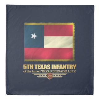 5th Texas Infantry Duvet Cover