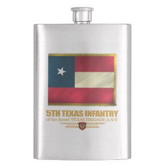 5th Texas Infantry Hip Flask