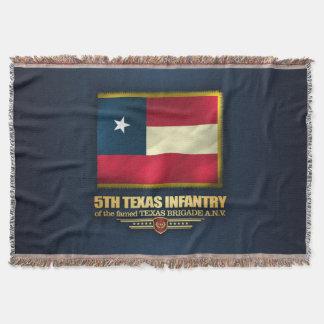 5th Texas Infantry Throw