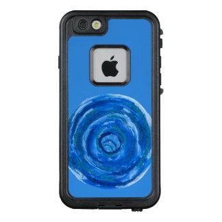5th-Throat Chakra #2 Healing Blue Artwork LifeProof FRĒ iPhone 6/6s Case