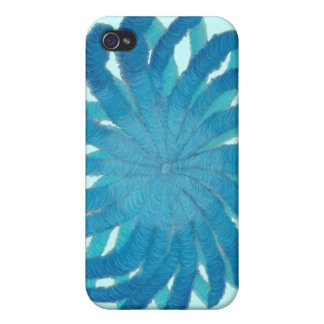 5th-Throat Chakra Artwork #1 Case For iPhone 4