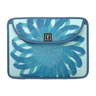 5th-Throat Chakra Blue Artwork #1 MacBook Pro Sleeve