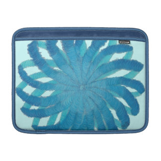 5th-Throat Chakra Blue Artwork #1 MacBook Sleeve