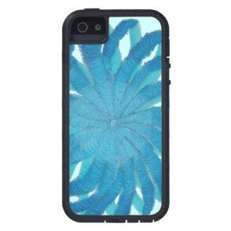 5th-Throat Chakra Blue Mixed Media #1 iPhone SE/5/5s Case