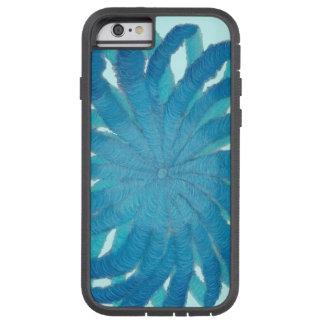 5th-Throat Chakra Blue Mixed Media #1 Tough Xtreme iPhone 6 Case