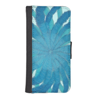 5th-Throat Chakra Cleansing Artwork #1 Wallet Phone Case For iPhone SE/5/5s