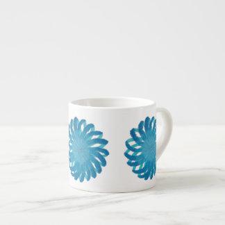 5th-Throat Chakra Healing Art #1 Espresso Cup