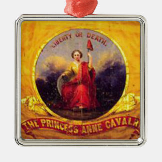 5th Virginia Cavalry  - The Princess Anne Cavalry Metal Ornament