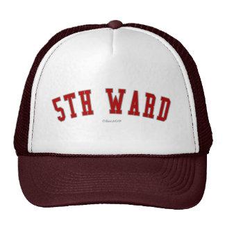 5th Ward Hats
