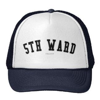 5th Ward Mesh Hat