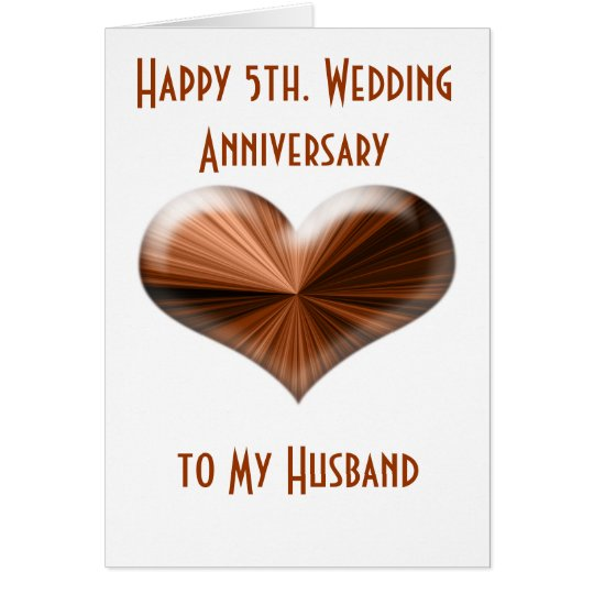 Happy 5th Wedding Anniversary To My Husband