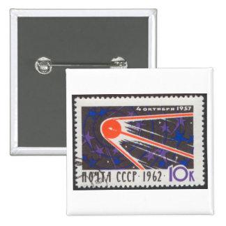 5to aniversario 1962 de Sputnik 1 Pin