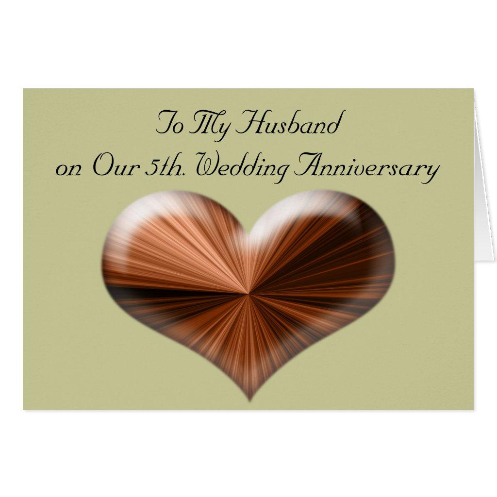 5 aniversario de boda