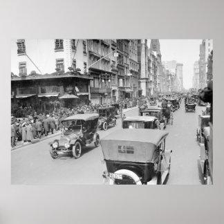 5to Avenida Pascua, 1910 Poster
