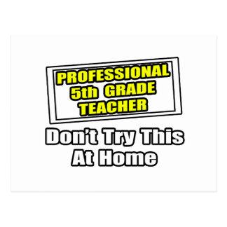 5to chiste del profesor del grado del profesional… tarjetas postales