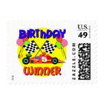 5to Cumpleaños del coche de carreras del Envio