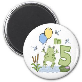 5to cumpleaños del Froggy Imanes