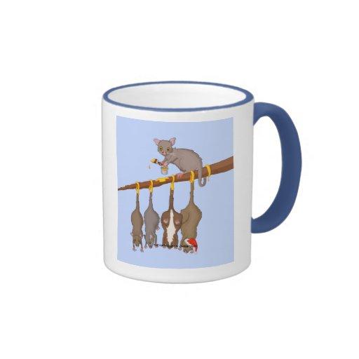5to Día de taza del navidad (5 anillos de oro)