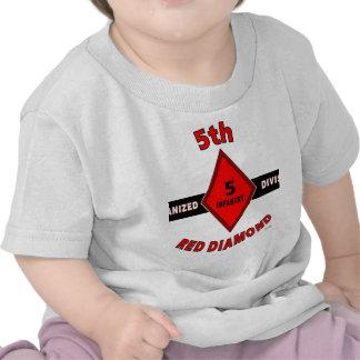 "5to DIVISIÓN de INFANTERÍA (MECANIZADA) ""DIAMANTE  Camiseta"