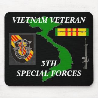 5to Fuerzas especiales Vietnam Mousepad 2/b Alfombrilla De Ratón