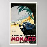 5to Grand Prix de Mónaco Posters