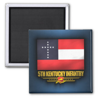 5to Infantería de Kentucky Imán Cuadrado