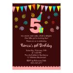 5to Invitación del fiesta de los niños del cumplea