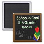 5to La escuela primaria es fresca Imán De Frigorifico