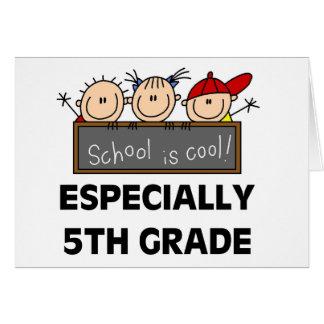 5to La escuela primaria es fresca Tarjeta