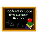 5to La escuela primaria es fresca Tarjeta De Felicitación