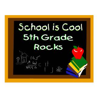 5to La escuela primaria es fresca Postal